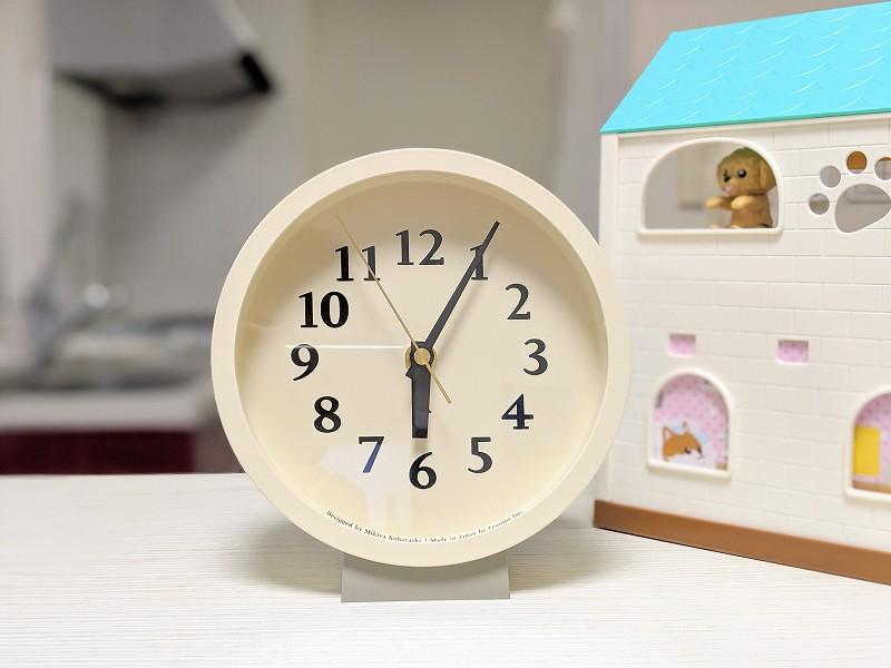m clock 電波時計(タカタレムノス)