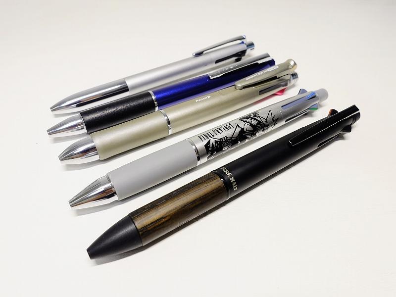 ピュアモルト(ジェットストリーム)多機能ペン