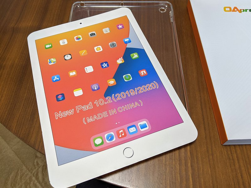 ELTD iPad 10.2 クリアケース(2020モデル)